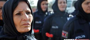 """Afgan kadın polislere Sivas'ta """"terfi"""" eğitimi"""