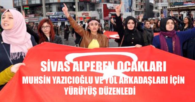 Alperen Ocakları, Muhsin Yazıcıoğlu ve Yol Arkadaşları İçin Yürüdü