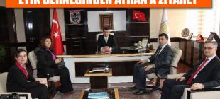 İl Özel İdaresi Genel Sekreteri Ayhan'a Ziyaretler Sürüyor