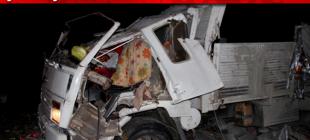Şarkışla'da kamyon devrildi: 1 yaralı