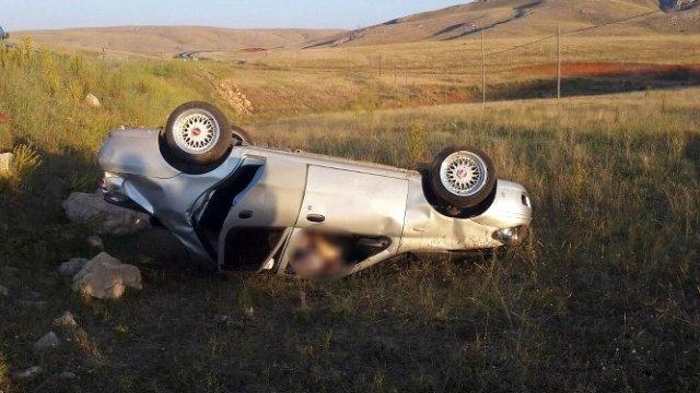 Sivas'ta Otomobil Uçuruma Yuvarlandı: 1 Ölü