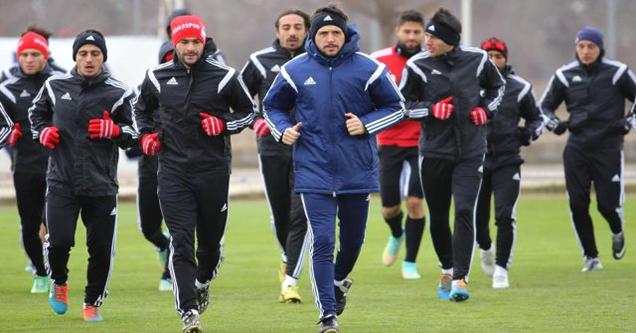 Medicana Sivasspor Kupaya Hazırlanıyor